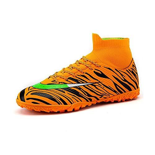 YXIAOL Zapatillas Fútbol Hombre Profesionales Training Botas de Fútbol Spike Aire Libre Atletismo Zapatos de Entrenamiento Zapatos de Deporte,#08-39