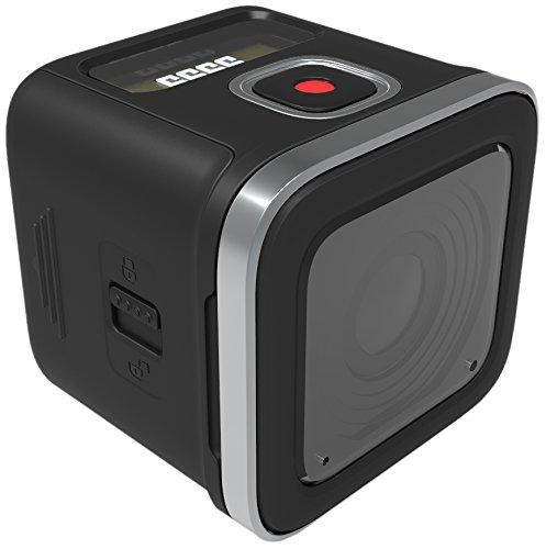 Rollei 500 Sunrise 4K - Videocámara Deportiva de 8 MP, WiFi, 3840 X 2160 (Pantalla de 0.9') Color Negro