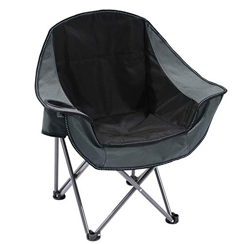 CAMPMOON Kids Camping Chair Outdoor, Folding Chair for Boys and Girls with Cup Holder, Portable Kids Quad Chair with Carry Bag