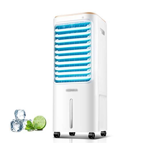 SHENRQIA 3in1 Aircooler | 12Liter | 3 Modi | 3 Stufen | Oszillierend | Klimagerät | Mobile Klimaanlage | Luftreiniger | Ventilator | Luftkühler | Luftbefeuchtung | Klima Anlage | Standventilator,65w
