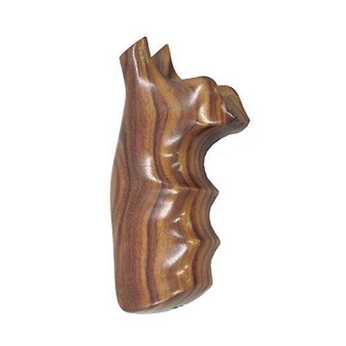 Hogue S&W N Round Pau Ferro Premium Wood Grips