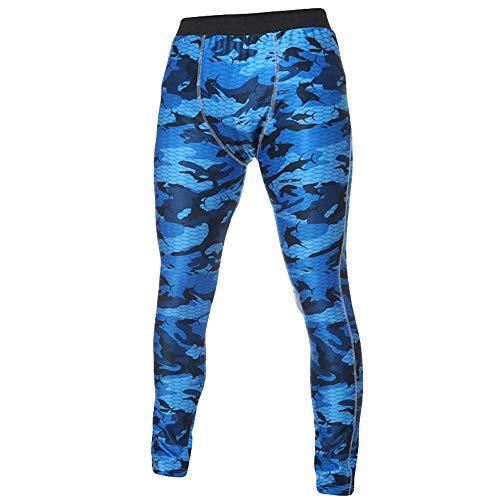 FRAUIT Leggins Uomo Palestra Militari Leggings Uomo Bodybuilding Pantaloni Tuta Uomo Pantaloni Fitness Abbigliamento Sportivo Compressione Leggings Calzamaglie Sportive Uomo
