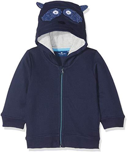 TOM TAILOR Kids TOM TAILOR Kids Baby-Jungen Sweatshirt, Blau (Black Iris Blue 3800), 62