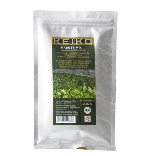 Keiko Bio Kabuse No.1 - 16 Pyramidenbeutel a 3g - Grüner Tee