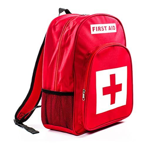 Oeternity Botiquines De Primeros Auxilios Bolsa Vacía, Múltiples Compartimentos Kit De Supervivencia De Emergencia para La Oficina En Casa Camping Senderismo Viajes Deportes