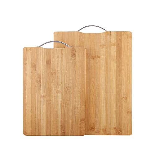 Veiligheid Biologische Bamboe Snijplank for de keuken, grote hakken Tray, Vlees Plantaardige Brood Fruits snijplank gift dljyy (Size : 40 * 30cm)