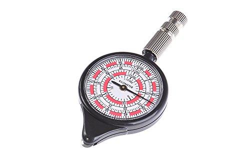 Huntington Rangefinder Opisometer: Karten Distanzmesser/Distanzmesser/Entfernungsmesser/Kartenmesser/Kurvimeter/Kurvenmesser, weiß-rot, LX-3-03 (DE)