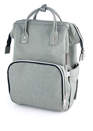 Canpol - Mochila para pañales gris gris