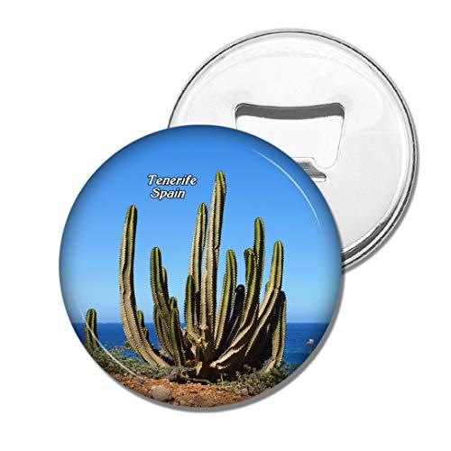 Weekino Spanien Teneriffa Kaktus Kaktus Bier Flaschenöffner Kühlschrank Magnet Metall Souvenir Reise Gift