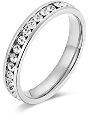 Swarovski Element Ring for women's Size 7 [SWR-022]