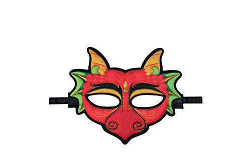 Dreamy Dress-Ups 71814 dierenmasker, dragon, masker stofmasker dierenmasker draak