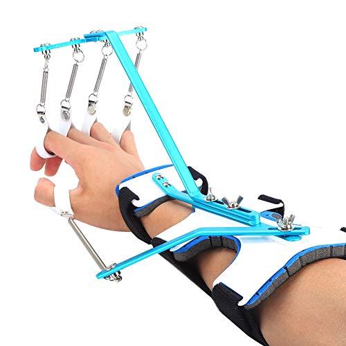 Ortesis de muñeca para dedo, multifuncional ajustable, equipo de entrenamiento para rehabilitación de dedos, muñeca, dedo, dispositivo ortopédico dinámico para pacientes, ejercicio de tendones