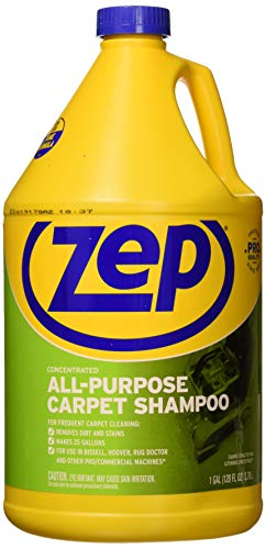 Our #5 Pick is the Zep All Purpose Carpet Shampoo and Carpet Cleaner Detergent