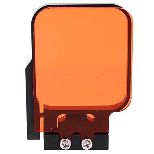 Duiklensfilterset voor Gopro Hero 3 / SJ4000-actiecamera, optisch glas Duikfilter Waterdichte accessoirekit voor verschillende onderwatervideofotografie (rood)