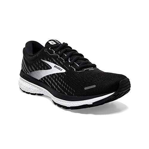Brooks Ghost 13 Black/Blackened Pearl/White 9 D - Wide