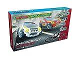 Scalextric g1132p Emergency Pursuit Auto rennbahnen, Negro