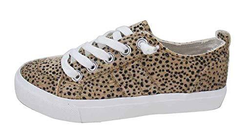 Jellypop Women's Kory Sneaker, Leopard Pony, 8