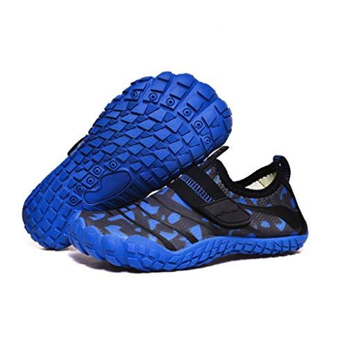 ZLDGYG Zapatos de Playa Infantil seco rápido Calcetines de Buceo Antideslizante Piscina Surfing Snorkel calcetín calcetín de natación Aletas Aletas Zapatos Deportes de Agua (Size : 37)