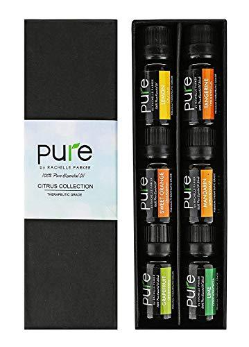 Citrus Essential Oil Kit. Pure Therapeutic Grade Fruity Essential Oils Set of Lemon Essential Oil, Grapefruit Essential Oil, Lime, Mandarin, Tangerine Essential Oil and Sweet Orange Essential Oil!