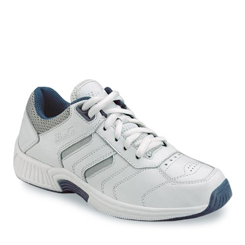 Orthofeet Proven Foot Heel and Foot Pain Relief. Extended Widths. Best Orthopedic Athletic Shoes Diabetic Men's Sneakers Pacific Palisades White