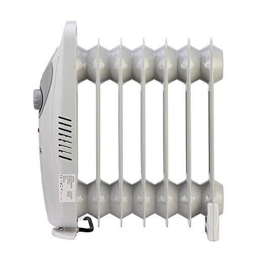NETTA Radiador de Aceite 800W con 7 Elementos - con protección ...