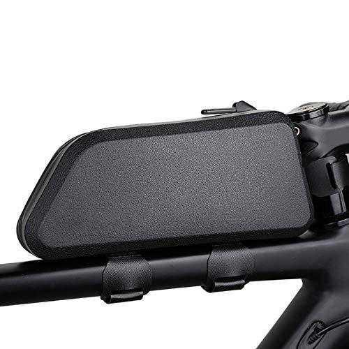 OUZHOU Bolsa para tubo superior de bicicleta de gran capacidad, impermeable, para viajes al aire libre