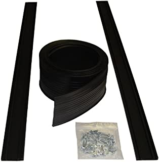 Auto Care Products 54009 9-Feet Garage Door Bottom Seal Kit with Track and Mounting Hardware