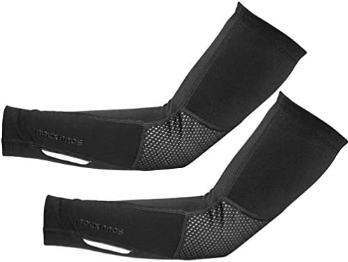 ROCKBROS Thermal Arm Sleeves Cycling Arm Warmers for Men Women Winter Arm Cover product image