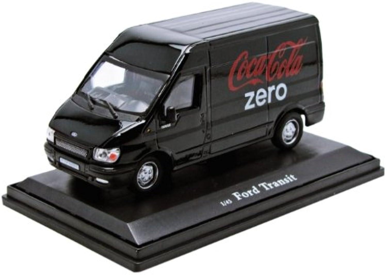 2005 Ford Transit [Motor città classeics 434735], Coca-Cola, nero   rosso, 1 43 Die Cast