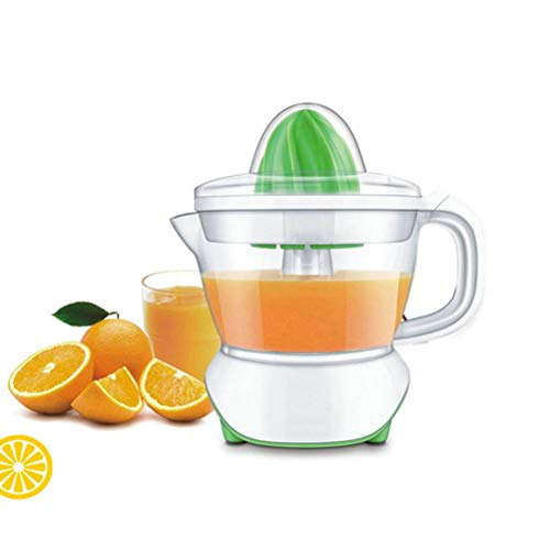 Weesey citrusvruchtensappers, 40 W, krachtige citruspers/sappers, roterend geperste vruchtensappen, transparante krog, stofbescherming