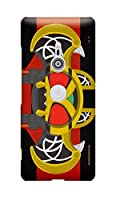 公式 仮面ライダー【ハードケース】 (Xperia XZ3, 仮面ライダーキバ)