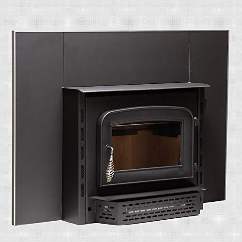 Ashley Hearth AW1820E 1,800 Sq. Ft. Wood Stove Insert, Black