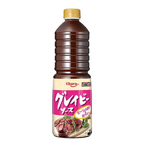 【常温】 エバラ食品 厨房応援団 グレイビーソース 1L グレービーソース