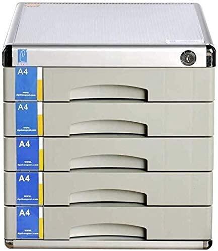 Cajonera de Oficina,Archivador para Oficina Archivo Gabinete Piso Escritorio Mueble de almacenamiento Multifunción Aluminio Aleación Oficina Oficina Suministros Muebles File Cajones Independientes Alu