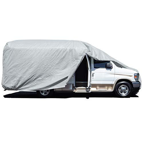 Budge Premier Class B RV Cover Fits Slim Class B RVs up to 21' 6' Long (Gray, Polypropylene), 260' L x 84' W x 96' H (RVRP-22)