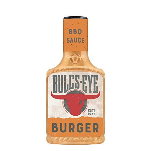 Bull's Eye Burger Sauce BBQ Sauce, Squeezeflasche, 6er Pack (6 x 300 ml)