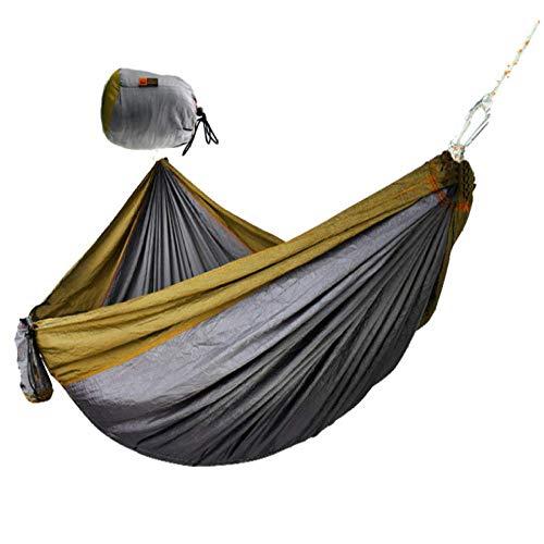 Hammock Camping Outdoor Portable Hammock Outdoor Parachute Cloth Hammock Camping Swing Double Widening Home Hammock
