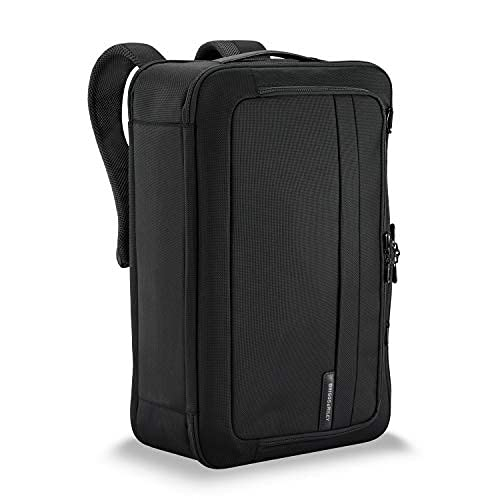 Briggs & Riley Baseline-Convertible Duffel Backpack, Black, One Size