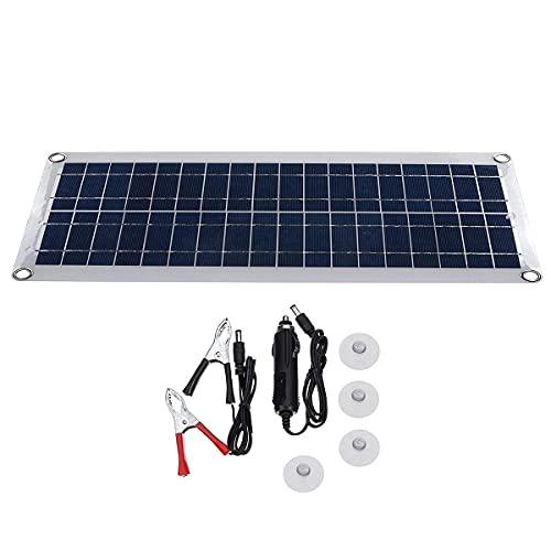 Paneles solares Doble Puerto USB de 5V DC 12V / 18V Cargador de batería de Carga de Panel Solar para Acampar Accesorios de generador de Viaje