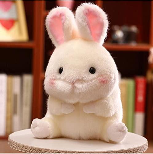 YZGSBBX Plüsch Panda Kaninchen Hamster Pinguin Plüsch Spielzeug Gefüllte Simulation Tier Weiche Puppe Schwein Plüschtier Ball Kinder Kleine Größe Spielzeug Plüschspielzeug (Color : Rabbit)