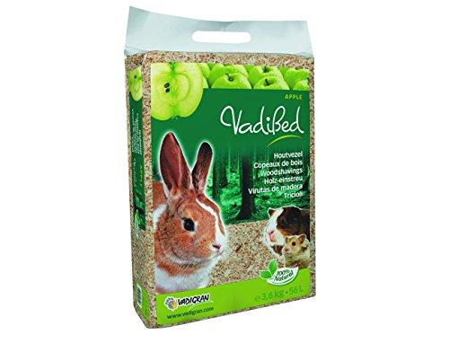 VADIGRAN Litières pour Petits Animaux Vadibed Copeaux de Bois Pomme 3,6 Kg