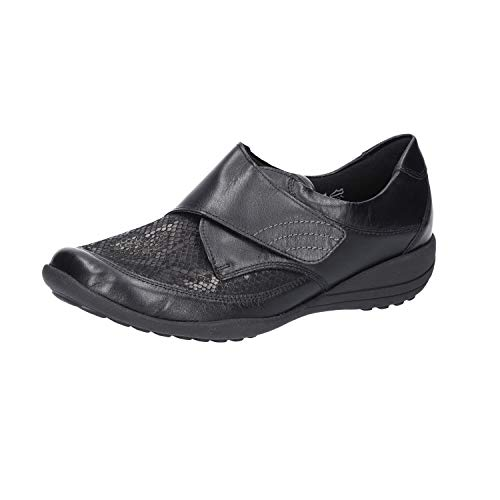 Waldläufer Damen Slipper Katja Soft -K- K01304.311.001 schwarz 706359