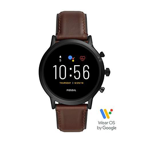Fossil Gen 5 Smartwatch Uomo con Speaker, Monitoraggio Battito Cardiaco, GPS, NFC e Notifiche Smartphone
