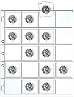UniKeep Coin Collector Refill Pack - Coin Flips & Cards Included (Nickels)