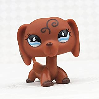 Lups Dachshund Dog #640 Collection Child Girl Boy Figure Toy Loose Cute by New Brand