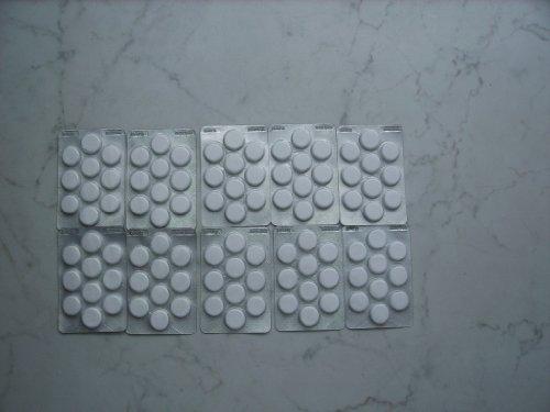 10 X 1 Blister = 100 Tabletten Schweizer Marken Cafe Clean Reinigungstabletten für Kaffeevollautomaten, Espressomaschine, Siebträger usw. (Mit Anleitung und Gefahrenhinweis)