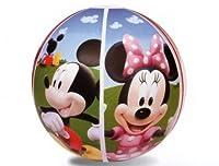 Ballon de plage gonflable Vinyle robuste pré-testé Mickey Mouse À partir de 3 ans Amusant pour toute la famille
