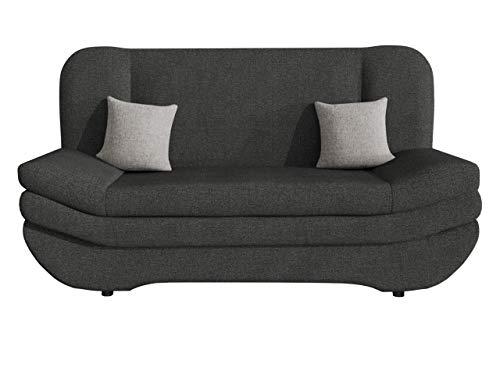 Sofa Weronika mit Bettkasten und Schlaffunktion, Schlafsofa, Große Farb- und Materialauswahl, Couch vom Hersteller, Wohnlandschaft (Drago 142 + Drago 142 + Tatum 279)