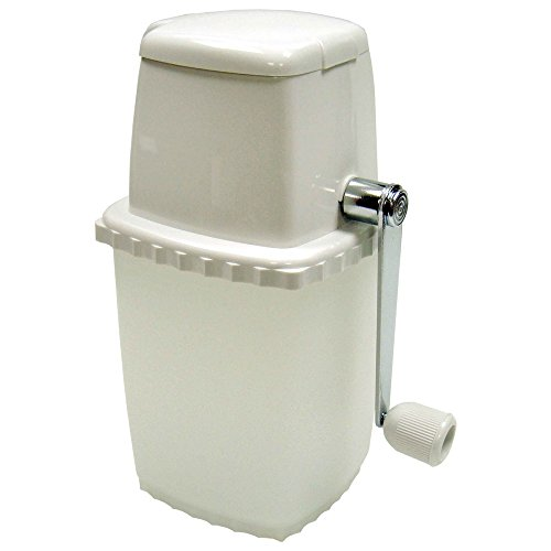 Winco ICP-9, Manual Portable Ice Crusher, White Ice Chopper Grinder,...