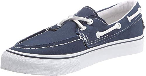 Vans Adult Zapato Del Barco Core Classics, Navy/White , Men's 6.5